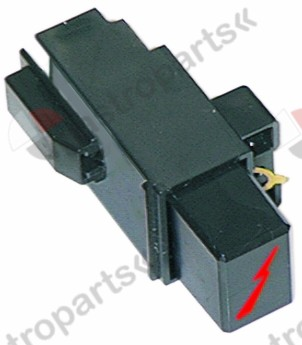 100.001, piezoelectric igniter suitable for Minisit connection F6.3x0.8