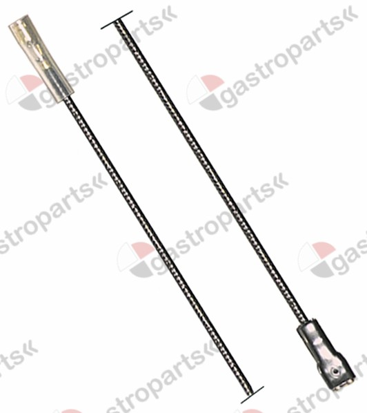 100.025, ignition cable cable length 600mm connection ø4mm / F6.3mm