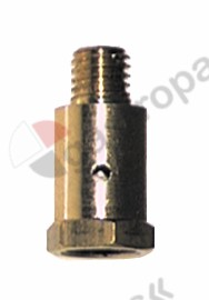 100.087, pilot burner cap thread M8