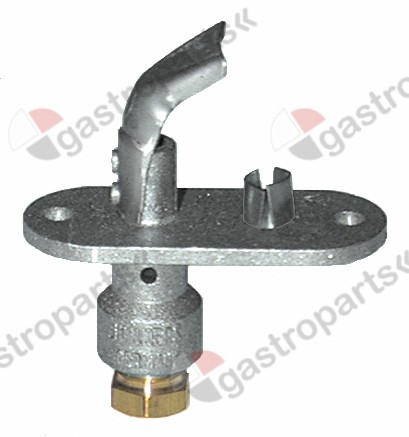 100.101, pilot burner JUNKERS type CB503003 LPG nozzle no.2 gas connection 4mm with primary air