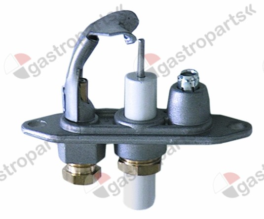 100.119, pilot burner JUNKERS type CB505141 natural gas nozzle no.45 gas connection 4mm