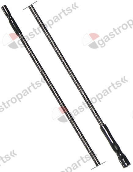 100.140, ignition cable cable length 400mm connection ø2.4mm / ø4mm