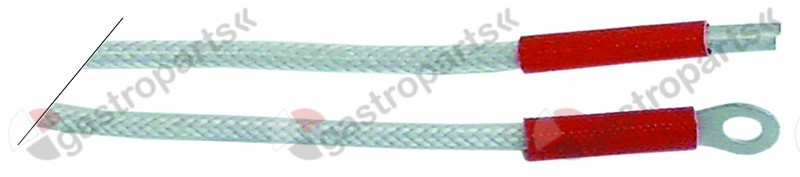 100.146, ignition cable cable length 900mm connection ø2.4mm / lug M4