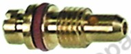 100.425, bypass nozzle MADEC bore ø 0,45mm thread M4.5x0.5