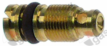 100.433, bypass nozzle type PEL22 bore ø 0,9mm thread M6x0.5