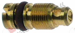 100.435, bypass nozzle type PEL22 bore ø 1,05mm thread M6x0.5
