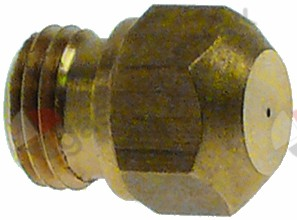 100.500, gas injector thread M9x1 WS 10 bore ø 0,85mm