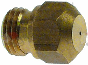 100.507, gas injector thread M9x1 WS 10 bore ø 1,35mm