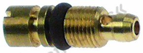 100.551, bypass nozzle type PEL20/21 bore ø 0,6mm thread M5x0.5