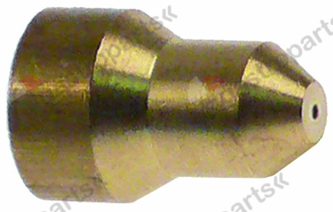 100.613, gas injector bore ø 0,81mm