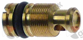 100.627, bypass nozzle type PEL23/24 bore ø 1mm thread M8x0.5