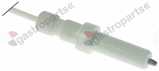 100.823, ignition electrode D1 ø 5mm cable length 555mm to clip