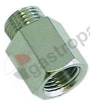 100.861, screw connection for thermocouple thread M10x1 L 14mm ø 6mm