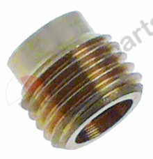 100.911, adapter for thermocouple thread M9x1 L 8mm mounting thread M6x0.5 Qty 1 pcs type SEF 1/2