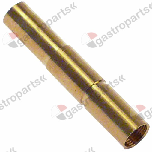 100.914, adapter ø 6/6.5mm ID ø 5mm L 36mm mounting thread M6x0.5 Qty 1 pcs type SEF 1