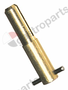 100.929, No longer available / gas tap spindle shaft ø 7x8mmsuitable for 24197 series EGA