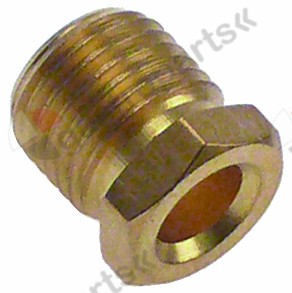 100.932, union screw thread M10x1 Qty 1 pcs