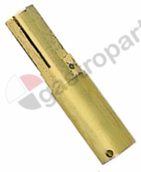 100.939, gas tap spindle shaft o 9x6.5mm L1 41,5mm L2 15mm EGA26400/26440