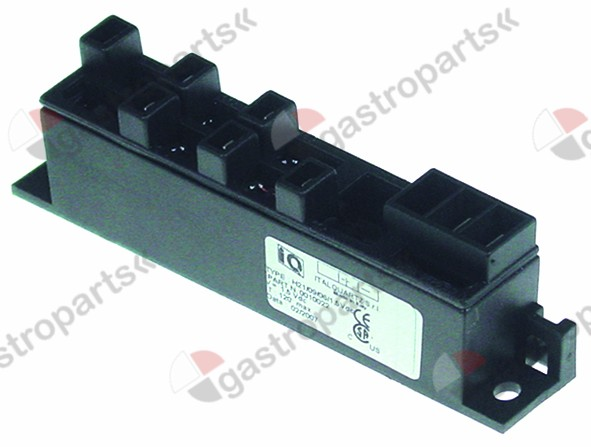 101.032, ignition unit outputs 6 1.5 V/DC dimensions 135x23x34mm mounting distance 123mm