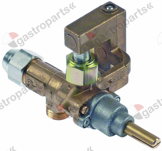 101.068, gas tap PEL type 20S gas inlet M16x1.5 (tube ø 10mm)