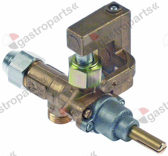 101.069, gas tap PEL type 20S gas inlet M16x1.5 (tube ø 10mm)