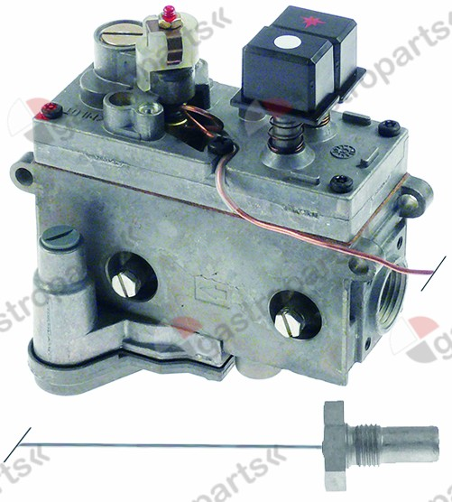 101.114, gas thermostat with pressure controller SIT type MINISIT 710 t.max. 190°C 110-190°C