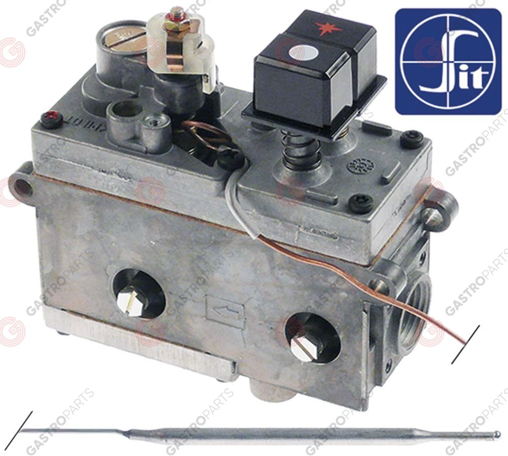 101.130, regulator gazu z termostatem SIT Minisit 710 30-100°C temp. max 100°C