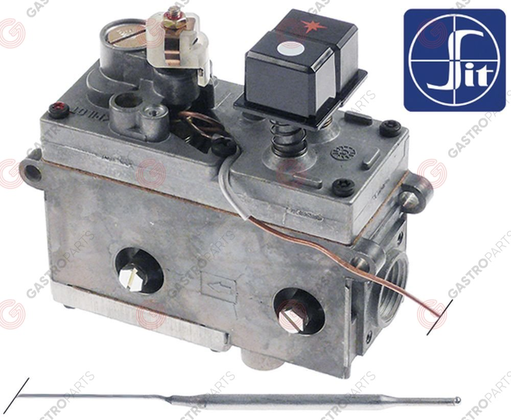 101.131, regulator gazu z termostatem SIT Minisit 710 50-190°C temp. max 190°C