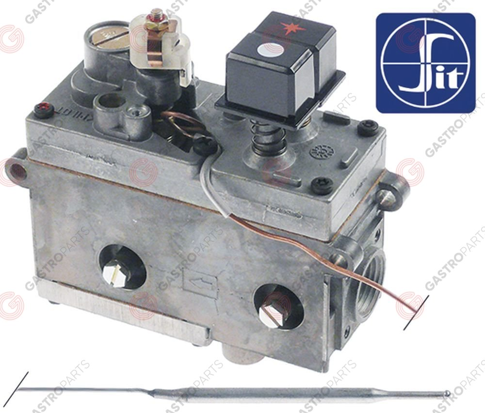 101.135, regulator gazu z termostatem SIT Minisit 710 110-190°C temp. max 190°C