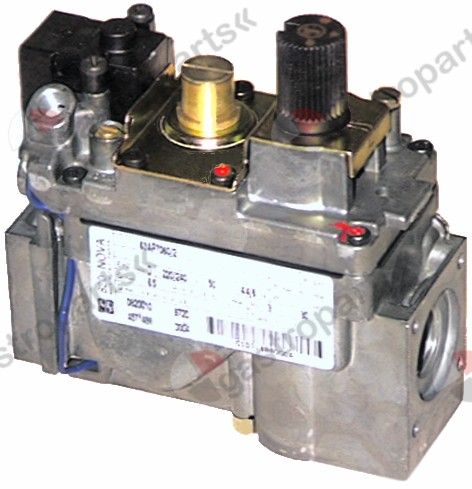 101.162, gas valve series 820 230V 50Hz gas inlet 1/2