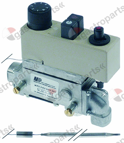 101.167, regulator gazowy CR633201 135-200°C