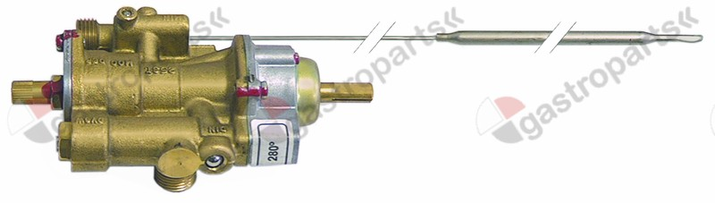 101.172, gas thermostat PEL type 25ST 100-300°C gas inlet M16x1.5 (tube ø 10mm)