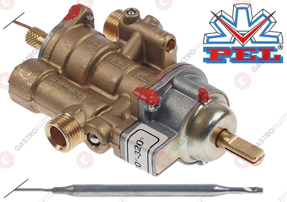101.332, regulator gazu z termostatem PEL 25ST 120-320°C
