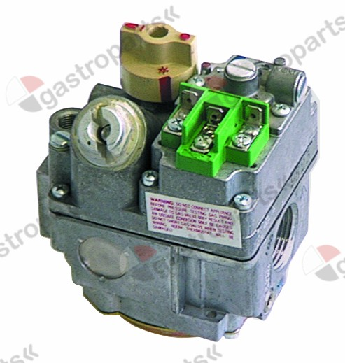 101.388, gas valve supply 220-240VAC 50/60Hz gas inlet 3/4