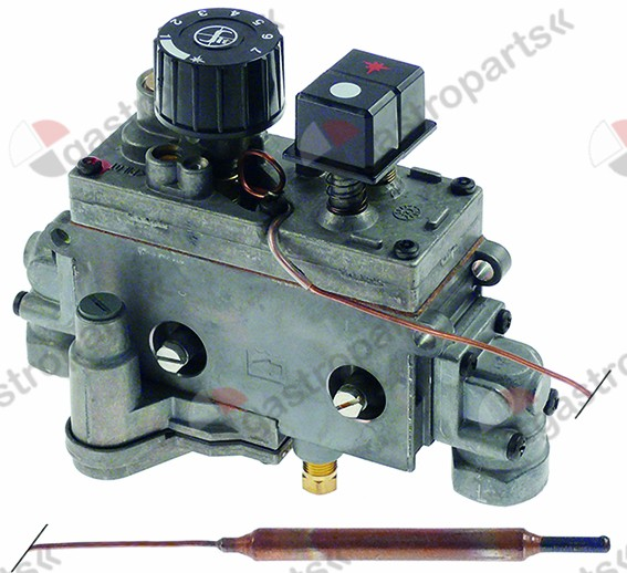 101.432, gas thermostat with push button SIT type MINISIT 710 t.max. 90°C 30-90°C