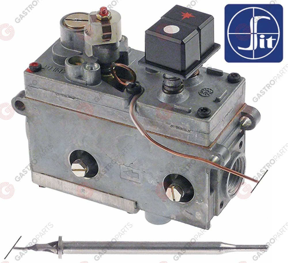 101.434, regulator gazu z termostatem SIT Minisit 710 110-190°C temp. max 190°C
