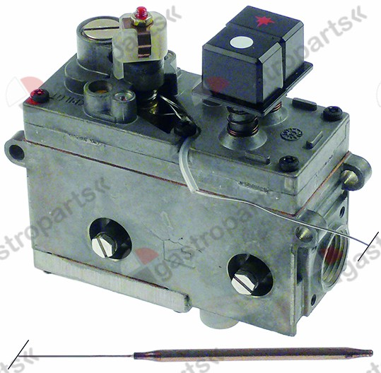 101.435, gas thermostat SIT type MINISIT 710 t.max. 340°C 100-340°C gas inlet 1/2