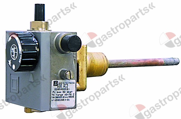 101.439, No longer available / gas thermostat type 600 AC2 series 20-70°Cgas inlet 3/8