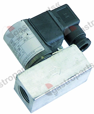 101.472, solenoid valve 230V connection M12x1 L 52mm KROMSCHRÖDER p max 0,36bar p min 0bar