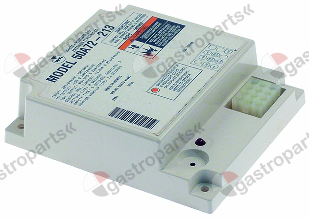 101.569, ignition box WHITE RODGERS type 50A72-250-04 waiting time 0s safety time 5s 220/240V 50/60Hz