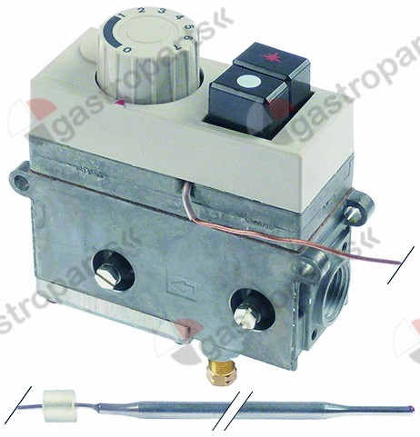 101.689, gas thermostat SIT type MINISIT 710 t.max. 110°C 40-110°C gas inlet 1/2