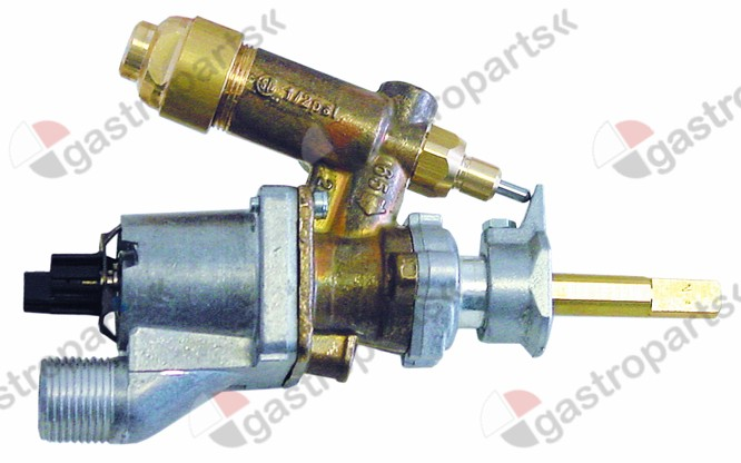 101.691, No longer available / gas thermostat SABAF t.max. 300°Cthermocouple connection M8x1 capillary pipe 850mm