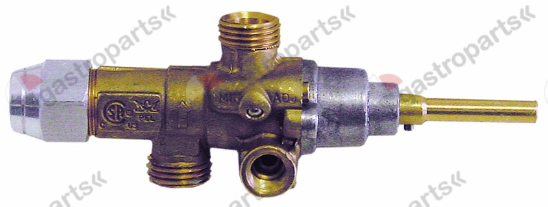 101.693, gas tap PEL type 21S gas inlet M16x1.5 (tube ø 10mm)