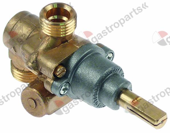 101.894, gas tap PEL type 21N gas inlet M16x1.5 (tube ø 10mm)
