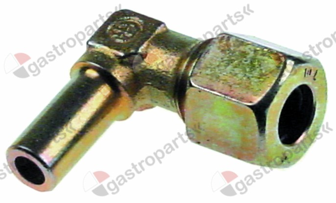 101.927, connection angle for gas burner
