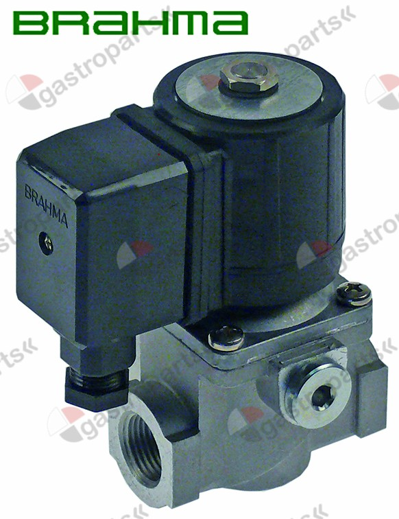 101.948, solenoid valve 230V DN 15mm connection 1/2