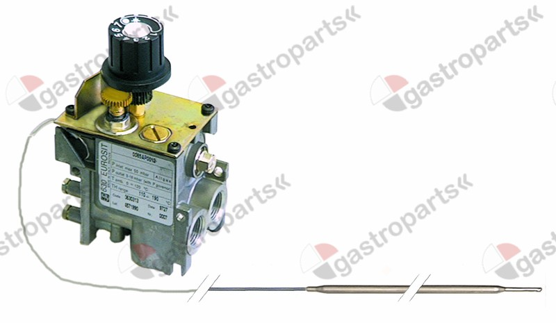 101.998, gas thermostat type 630 Eurosit series t.max. 340°C 100-340°C