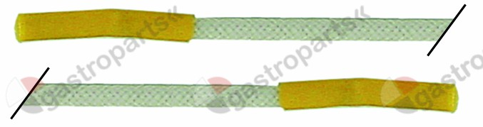 102.160, ignition cable cable length 2000mm connection ø2.4mm / ø2.4mm