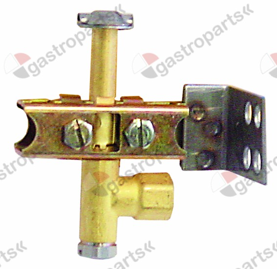 102.806, Replaced by 100124 / pilot burner PRO-GAS type 100 series 3 flamesnozzle type A