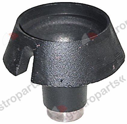 104.030, burner head for burner cap ø 80mm